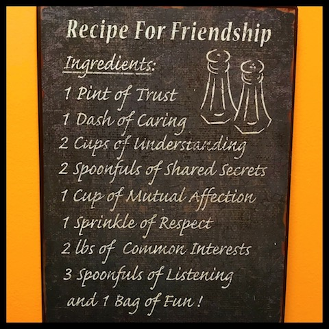 Recipe for Friendship